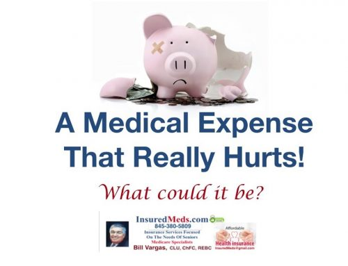 A Medical Expense That Really Hurts! What Could It Be?