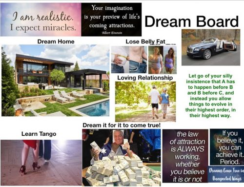 Manifesting Miracles In Your Life Vision Board