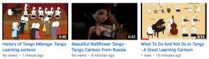 3 Learning Tango Videos